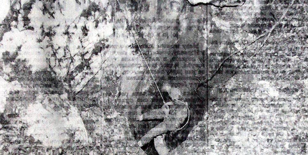 """Данимир Ристић први jе сишао у понор у коме су се одиграле драме много страшниjе него што jе Данте описао у свом """"Паклу""""."""