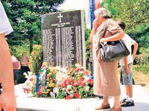 Спомен-обележје у Брадини (Фото: Д. Станишић)