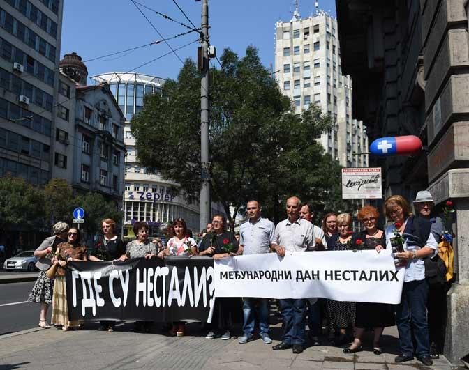Породице несталих чекају истину о њиховој судбини (Фото Танјуг/Драган Кујунџић)