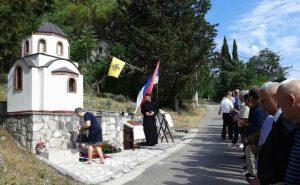 У Придворцима код Tребиња данас је служен парастос за 13 Срба које су усташе бациле у Придворачку јаму у ноћи 23. на 24. јун 1941. године