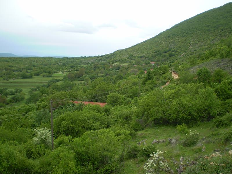 Пут жртава кроз село Капавицу