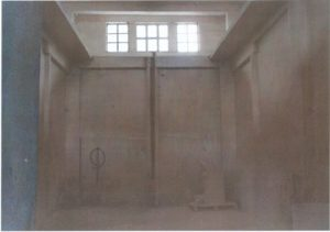 """Бетонска ћелија државног концентрационог логора """"Силос"""", у појединим ћелијама било је затворено преко 50 људи…"""