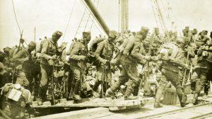 Српска војска на путу за Солунски фронт