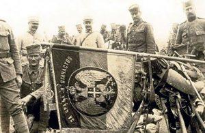 Srpski barjak na Solunskom frontu, Foto Privatna arhiva
