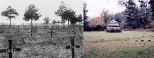 Војничко гробље, некад и сад