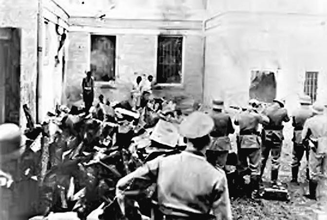 Стрељање омладине у логору Сајмиште 1943. (Фото Википедија)