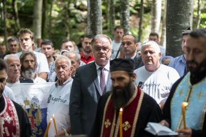 Др Младен Иванић на Јадовну 01. јула 2017.