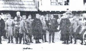 Завади па владај: Аустроугарски официри у Дугој пољани код Сјенице Фото: Д. Н. Петровић