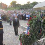 Представник Амбасаде Русије у БиХ положио цвијеће код Централног спомен-крста на братуначком гробљу и одао почаст Србима средњег Подриња страдалим у одбрамбено-отаџбинском рату