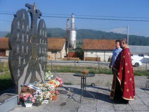 Мркоњић Град , Бјелајце: Парастос Фото: СРНА