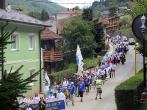 "Поклонички марш ""Жепа-Поточари"" Фото: СРНА"