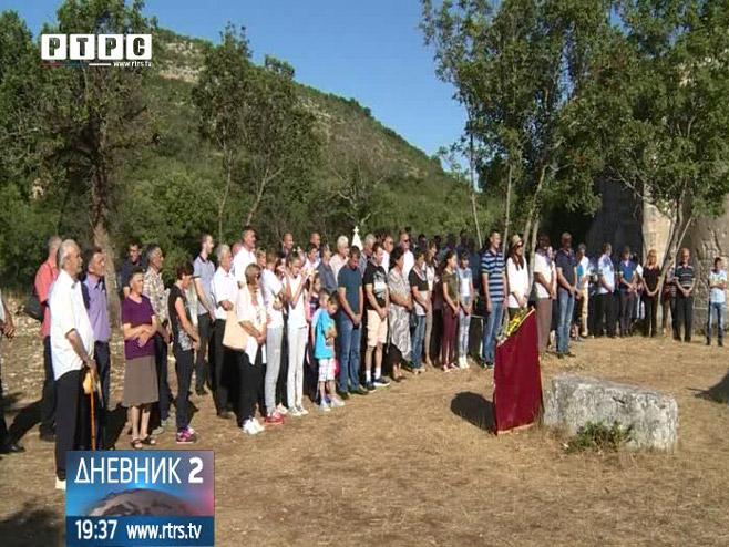 Село Горње Храсно у општини Неум Фото: РТРС