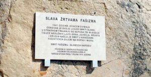 Спомен-плоча на Пагу је већ неколико пута украдена