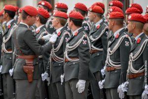 Аустријска гарда (архивска фотографија)