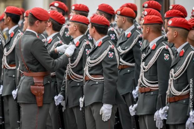 Austrijska garda (arhivska fotografija)