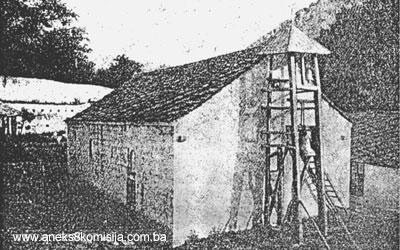 Црква Манастира Житомислићи са конацима 1867.