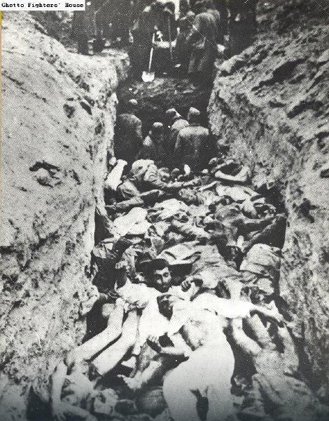 Ghetto Fighters House И обични немачки војници су били веома свесни геноцида над Јеврејима који се на источном фронту одвијао без икаквог прикривања