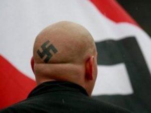 Неонациста (илустрација)
