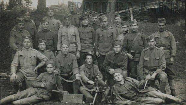 Словенци са шајкачама