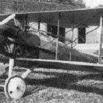 Авион СПАД на каквом је летео Петар Мартиновић