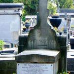 Надгробин споменик пилота П. Мартиновића