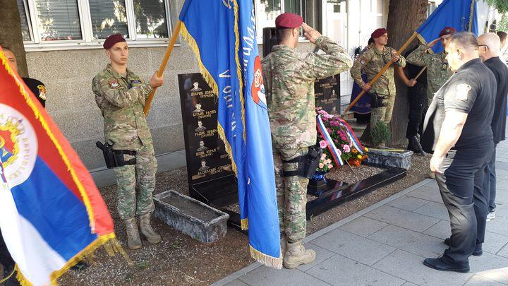 Парастос за 26 припадника Петог одреда Специјалне бригаде полиције, погинулих у одбрамбено-отаџбинском рату, служен је данас у Добоју у оквиру обиљежавања 25 годинa од оснивања тог одреда.