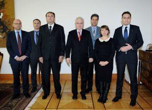 Ђорђе Пражић и др Иво Јосиповић на састанку 11.11.2013.