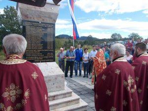Kod spomen-obilježja u Serdarima u nedjelju, 17. septembra, biće služen molitveni pomen za 16 nevino stradalih Srba iz ovog sela koje su prije 25 godina ubili, a potom masakrirali pripadnici hrvatsko-muslimanskih snaga.