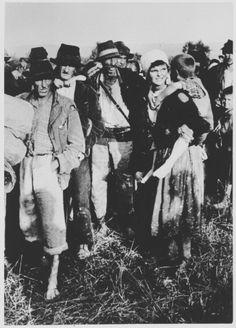 Одвођење људи са Козаре у Јасеновац