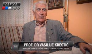 Проф. др Василије Крестић