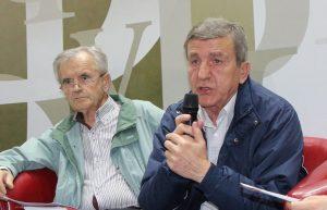 На промоцији су говорили генерал Радован Грубач и пуковник Неђо Попара