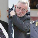Генерали Божидар Делић ,Владимир Лазаревић, и Љубиша Диковић