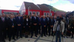 Predsjednik Republike Srpske Milorad Dodik na obilježavanja 22 godine od stradanja Srba u zapadnoj Krajini, u Mrkonjić Gradu.