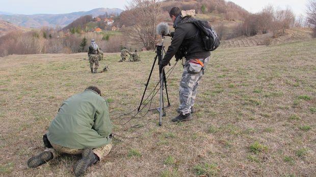 Реконструкција напада на српско село