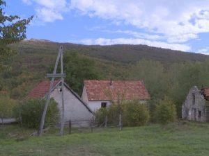 Selo Trubar - Srpski povratnici bez struje Foto: RTRS