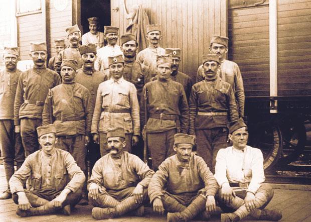 Српски војници у Мурманску 1918.