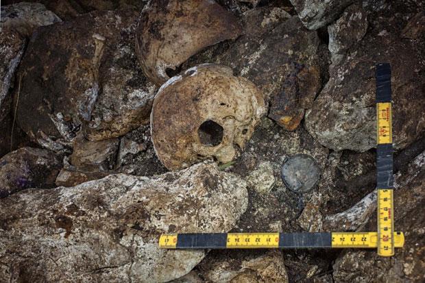 Део наочара пронађен у пећини