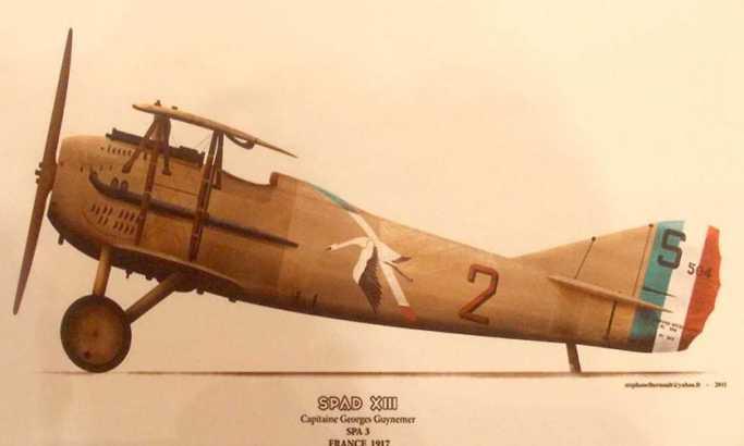 Авион којим је летео Тадија Ђ. Јанковић