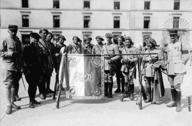Чехословачки легионари у Француској