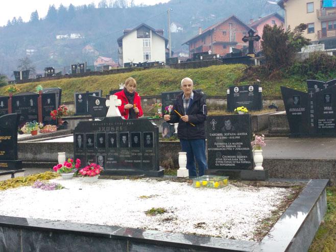 Фоча, горња Јошаница - помен Фото: СРНА