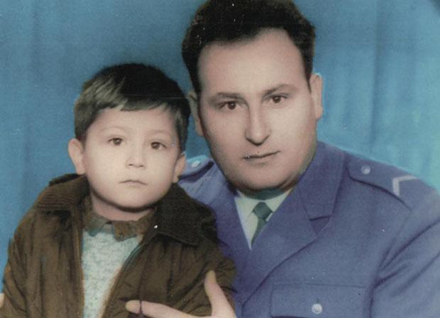 Предраг са оцем Славком/ Фото: Приватна архива