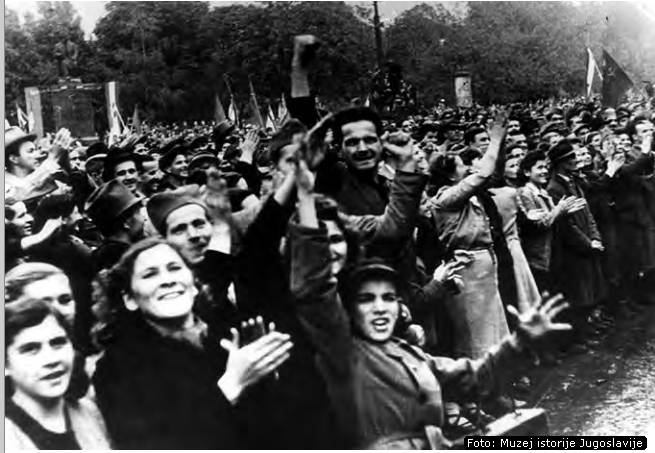 Ослобођење Београда, октобра 1944.