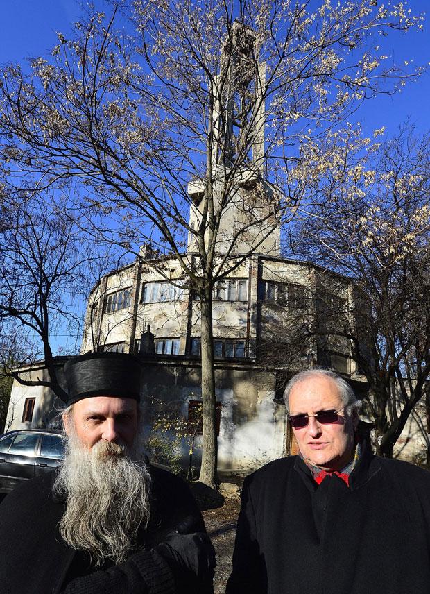 Владика Јован и Ефраим Зуроф Фото Танјуг