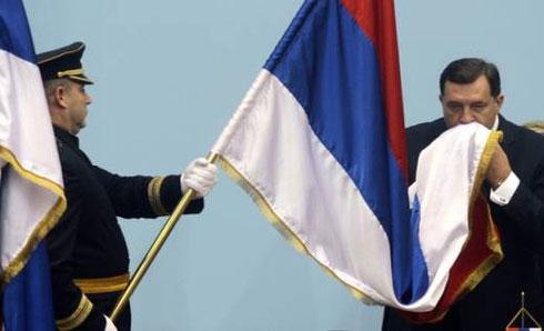Милорад Додик кога аутори Гардијана по правилу означавају као сепаратистичког лидера босанских Срба