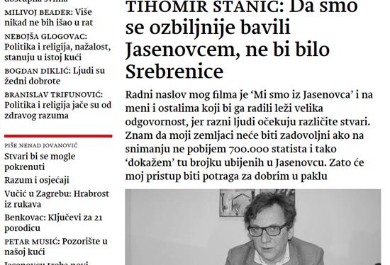 Извор: Srpski tjednik Novosti