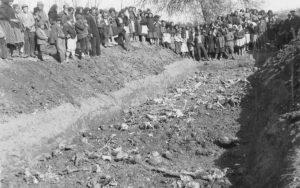 Masovna grobnica žrtava sela Kometnik i Dobrić, ubijenih 1942. u Voćinu