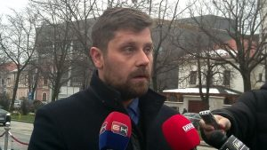 Predsjednik Gradske organizacije porodica zarobljenih i poginulih boraca i nestalih civila Bijeljina Mišo Poletan.