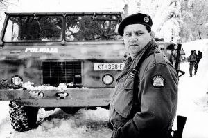Генерал Младен Маркач. Крвави Ускрс Плитвице 1991. године. Фото: Vale Z. Leindl @tinaleina_vale