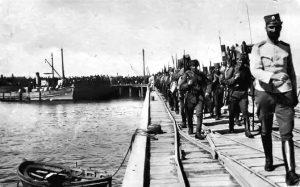 Долазак Српске војске у Солун 1916. године