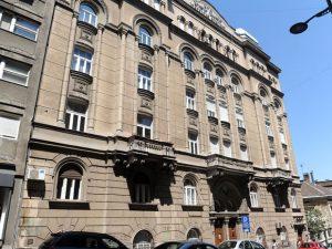 Zgrada Saveza jevrejskih opština Foto V. Danilov